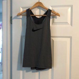 Grey Nike Pro medium barely worn tank